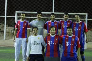 فريق المستوى السابع خلال دوري الكلية .JPG -