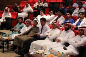حضور وكيل الكلية د. أحمد العسيري للفعالية .JPG -